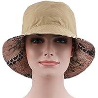 lkklily-fashion sombrero poco sombrero doble cara dos colores sombrero de playa sombrero de sol las mujeres sombreros para las mujeres accesorios