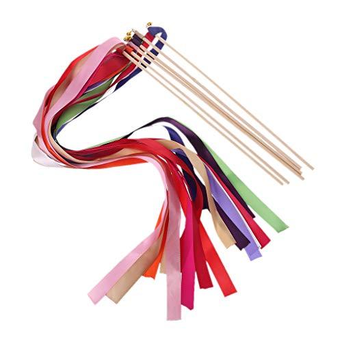 KunmniZ 1 x Hochzeits-Schleifen-Stift mit 3 Streifen, Fee, Party, Gastgeschenk, Bankett, Zubehör, Babyparty, Urlaub, Feier, zufällige Farbe