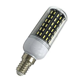 Aoxdi 1X LED Light Bulbs E14 9W, Cool White, 96 SMD 4014 Energy Saving LED Bulbs, Super Bright LED Lamps, AC 220-240V