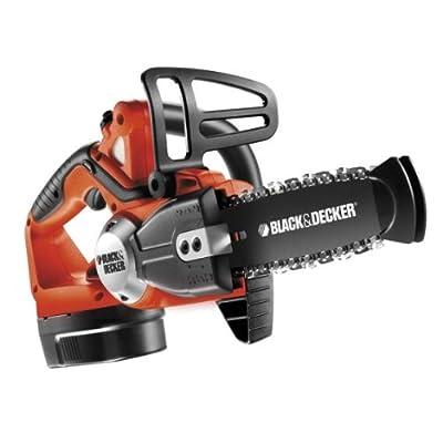 Black + Decker GKC1817TB Kettensägen-Kit inklusive Toolbox und 2. Akku, 18 V von Black Decker