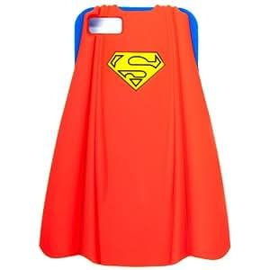 Bioworld - Coque iPhone 5 - Superman - Coque iPhone 5 Cape Silicon - 8718526024326