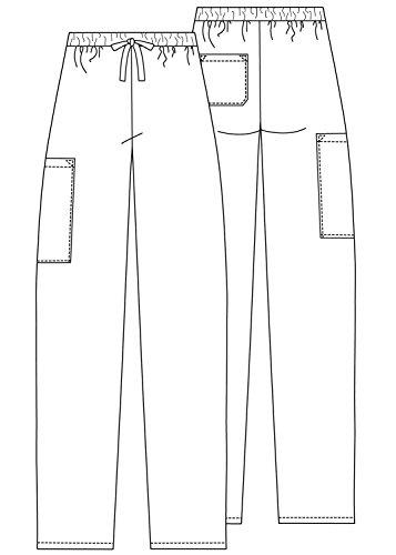 Medizinische Schrubb-hosen – Unisex Krankenhaus-uniformhose 504 Color NVY | Talla: M - 3