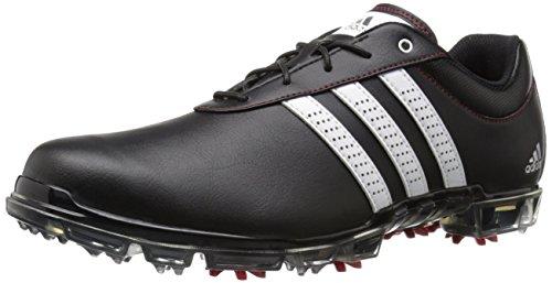 Adidas Men s Adipure Flex Golf Shoe Core Black/White/Power Red 9.5 D(M) US