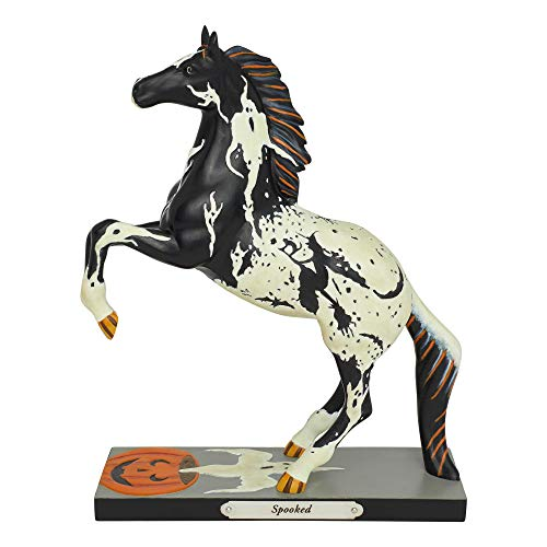 ENESCO Trail of Painted Ponies Spooked Figur, Messing, Mehrfarbig ()