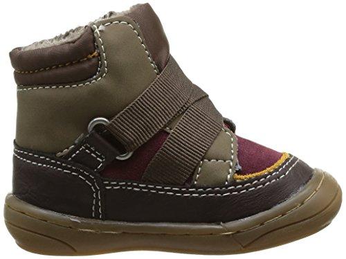 Kickers ZEDINON WPF - Zapatos primeros pasos de material sintético para niña, color negro, talla 22 EU (5.5 Baby UK)