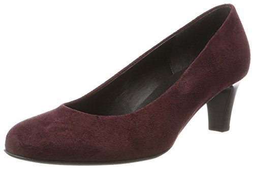 Gabor Shoes Damen Basic Pumps, Rot (35 Bordo), 41 EU