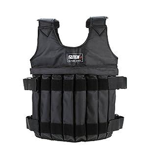 Docooler Gewichtswesten/Weighted Vest, 16Pouch/Max 20kg