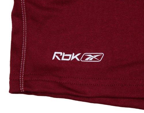 Reebok pour Femme Athletic Pantalon court pour Performance Cardinal Dark Red