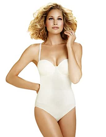 Body Wrap Shapewear Ivory The Strapless Pin Up with ...