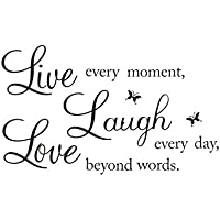 Pegatina de pated LIVE LAUGH LOVE