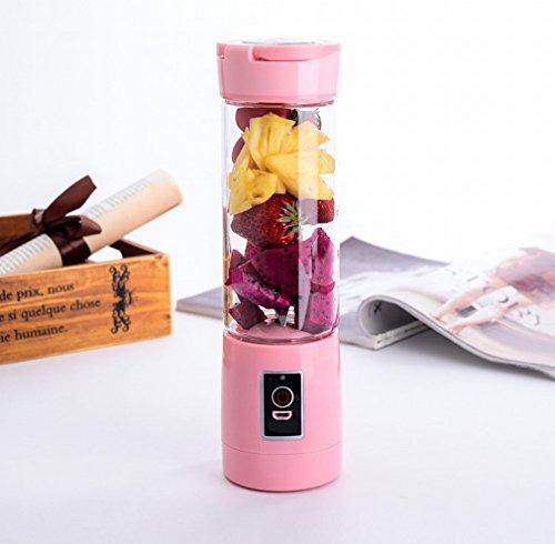 stts Home Portable Juicer Juice Cup Saft Saft Saft Maschine,Rosa