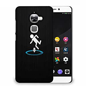 Snoogg I fall into shit Designer Protective Back Case Cover For Samsung Galaxy J1