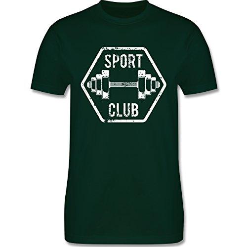 CrossFit & Workout - Sport Club - Herren Premium T-Shirt Dunkelgrün