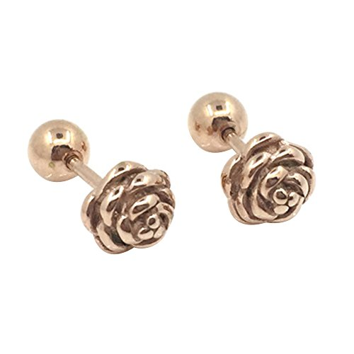 conteverr-1-pair-6mm-titanium-steel-rose-flower-screw-stud-earrings-men-women-gold