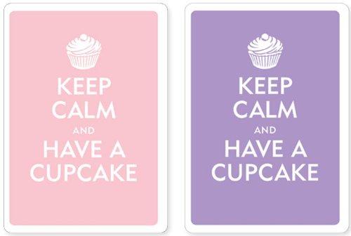 Cupcake Premium Playing Cards, Two Standard Decks ()