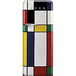 Smeg FAB28RDMC3 frigo combine Autonome Multicolore 270 L A+++ - Frigos combinés (Autonome, Multicolore, Droite, 110°, Rotatif, Verre)
