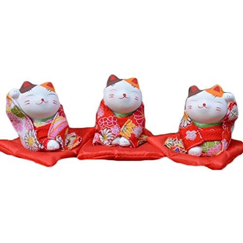 Black Temptation Muñeca / muñeca / Regalos / decoración japoneses Tradicionales afortunados del Gato Afortunado -A16