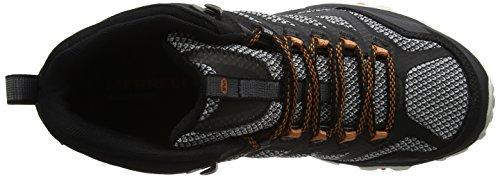 Merrell Herren Moab Fst Mid GTX Trekking-& Wanderstiefel Schwarz (Black)