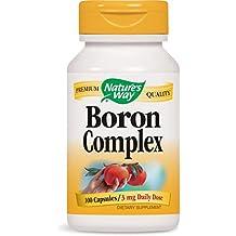 Nature's Way Boron Complex - 100 Capsules