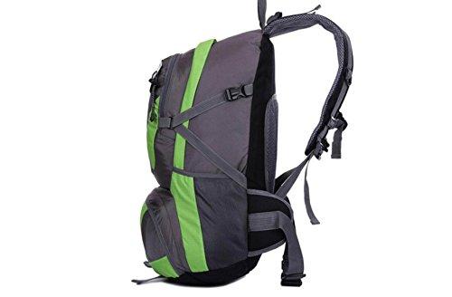 LQABW40L Neues Im Freien Bergsteigen Tasche Männer Und Frauen-Schulter-Wasserdicht Atmungs Freizeit Reisen Rucksack Black