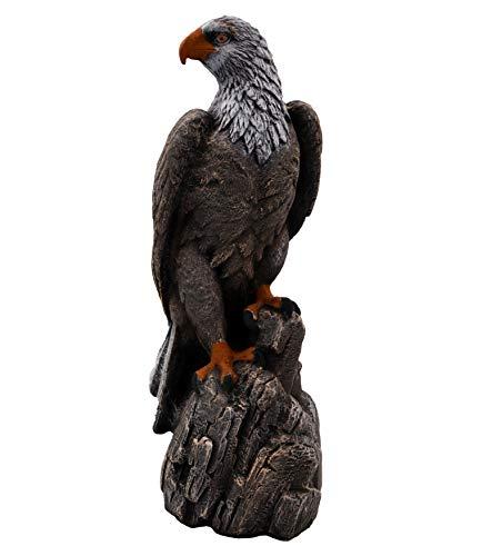 gartendekoparadies.de Wunderschöner Adler Farbe antik aus Steinguss, frostfest