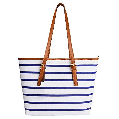 521f566aaaa11 Coofit Handtaschen Designer Shopper Tasche Schultertasche Geldbörse Für  Frauen