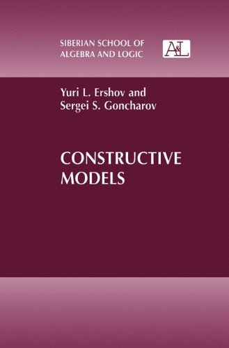 Constructive Models (Siberian School of Algebra and Logic)