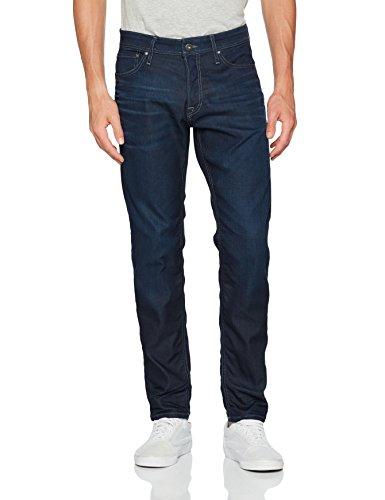 JACK & JONES Herren Loose Fit Jeans Blau (Blue Denim)