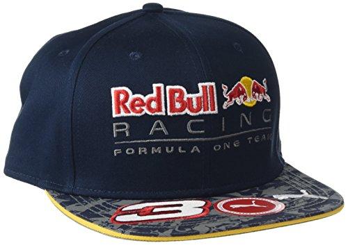Puma RBR Daniel Ricciardo Driver Cappellino, Colore Blu (Total eclipse), Taglia OSFA
