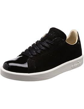Diadora Heritage, Donna, Game S Patient, Suede / Pelle, Sneakers, Nero