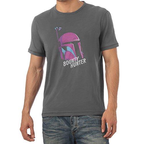 TEXLAB - 80s Boba - Herren T-Shirt Grau