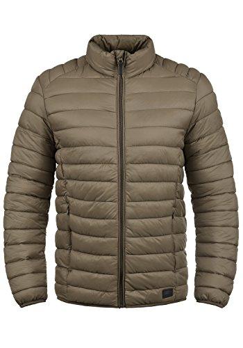 Blend Nils Herren Steppjacke Übergangsjacke Jacke mit Stehkragen, Größe:L, Farbe:Mocca Brown (71508)