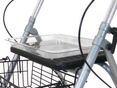 Tablett f. Rollator Cristallo/ Migo(Drive Medical), Zubehör für Rollatoren