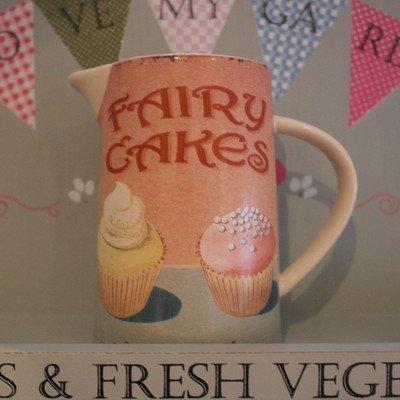 martin-wiscombe-petit-pichet-en-gres-motif-fairy-cakes-couleurs-variees