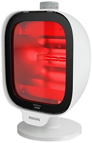 Philips PR3120/00 InfraCare Infrarotlampe zur tiefenwirksamen Behandlung von Muskelschmerzen, 300 Watt