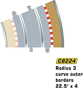 Super Slot 500008224 - 22.5 EXTRANJEROS FAHRB.BEGRAD 8204, Rennbahnhzubehör Importado de Alemania