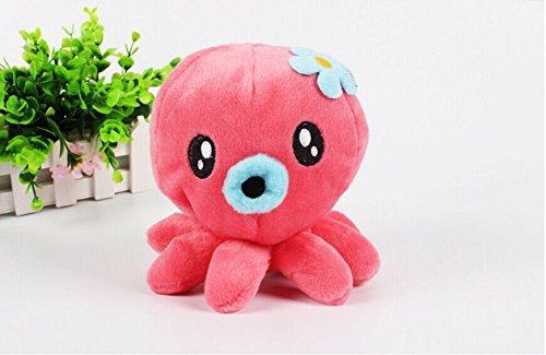 Ari_Mao Octopus Shaped Toy Pet Plüschtier Welpen Molaren Spielzeug für Interaktive Hund
