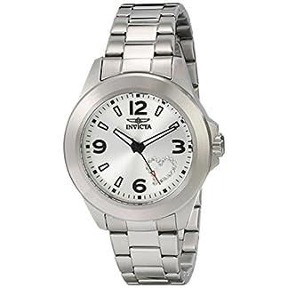Invicta 17932 – Reloj de Pulsera Mujer, Acero Inoxidable, Color Plata