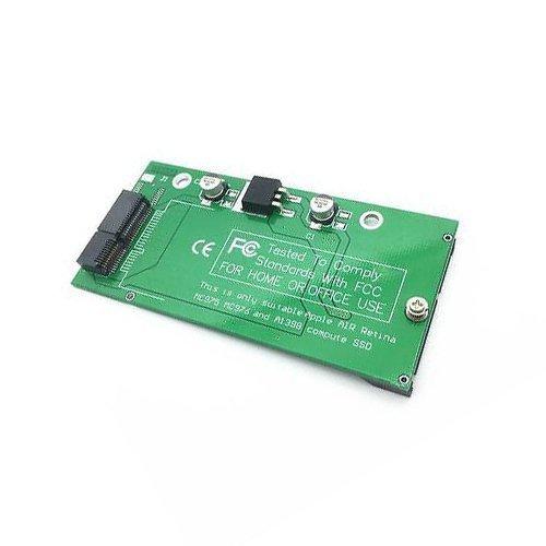Tarjeta de Adaptador de SSD a SATA para Apple MacBook Pro Retina A1398 MC975 MC976 2012