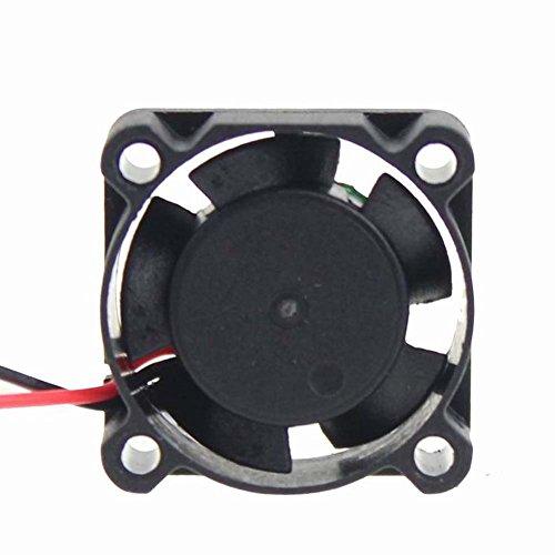 30mm x 30mm x 10mm 301012V 0.08A sin escobillas DC ventilador de...
