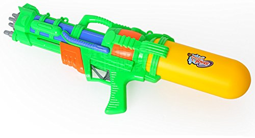 TREESTAR Übergroße Wasser Jet Spielzeug High Druck Range Shooting Kind Shooting Spielzeug Strand Wasser Spritzwasser Spielzeug Grün (eine für Verkauf) Größe 51cm * 20cm