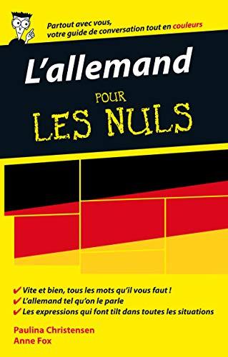L'allemand pour les Nuls Guide de conversation, 2e édition