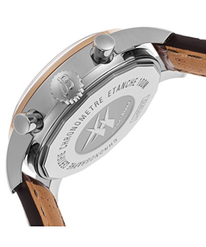 Breitling Damen braun Krokodil Leder Band Stahl Fall S. Saphir Automatik Uhr u4131053-q600ls - 5