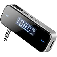 FM Radio Transmitter Adapter for Car, Smartphone, PC,