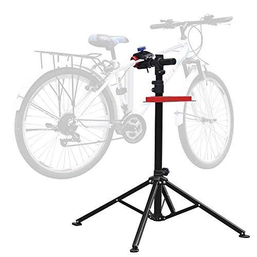 Amzdeal Soporte Caballete de reparación de Bicicletas Soporte de Reparar Bici Altura Ajustable115cm-170cm...