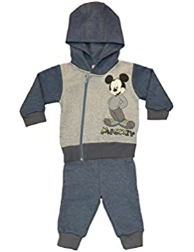 Jungen Mickey Mouse SPORT-ANZUG zweiteilig, Sweat-Jacke mit langer Hose, GRÖSSE 68, 74, 80, 86, 92, 98, 104, 110...