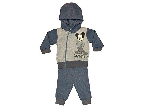 Jungen Mickey Mouse SPORT-ANZUG zweiteilig, Sweat-Jacke mit langer Hose, GRÖSSE 68, 74, 80, 86, 92, 98, 104, 110, 116, Jogging-Anzug mit Hoodie /...