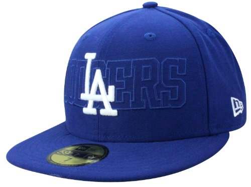 New Era LA Dodgers Cap Tonal Word Taille 6 7/8-7 3/8