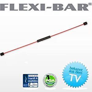 "FLEXI-BAR® Standard + DVD ""Bauch Beine Po"" + DVD ""Fit in 7 Tagen"""