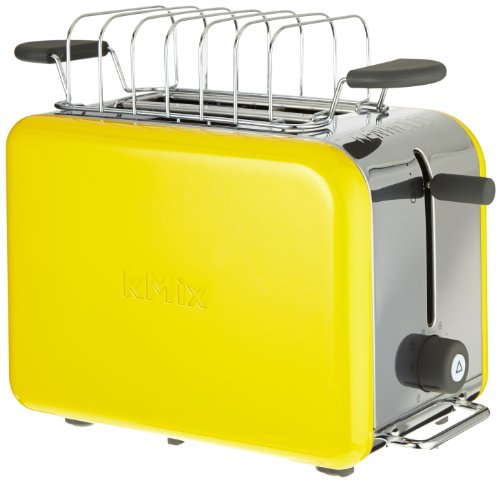 Kenwood TTM 028 kMix Boutique Serie - Tostadora (2 tostadas, 900 W), color amarillo